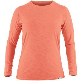 NRS H2Core Silkweight Longsleeve Shirt Dames, cayenne